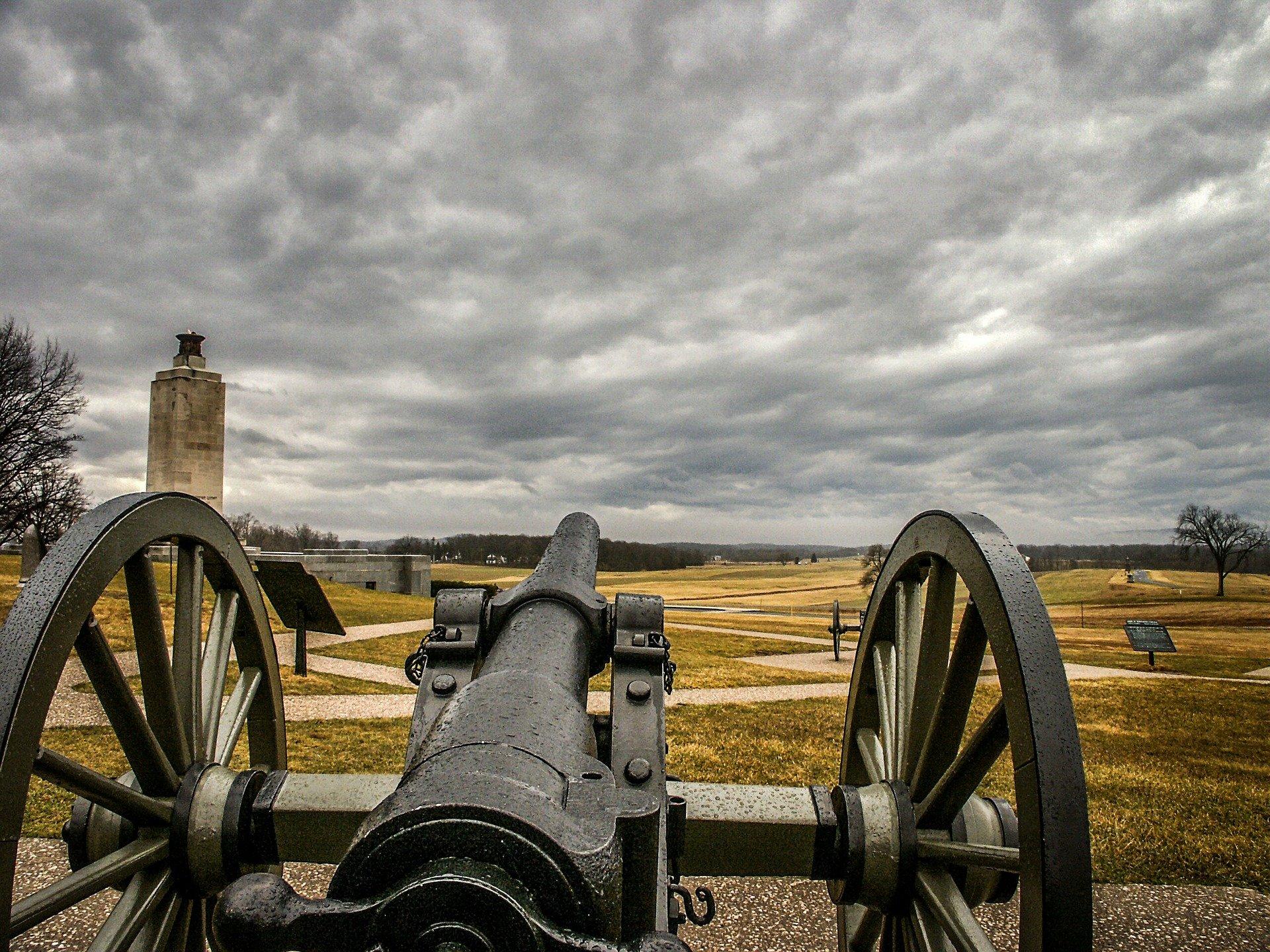 Canon on Gettysburg Battlefield
